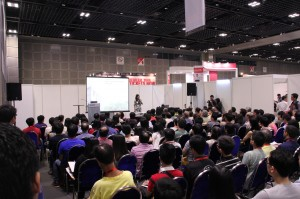 A fully packed seminar room