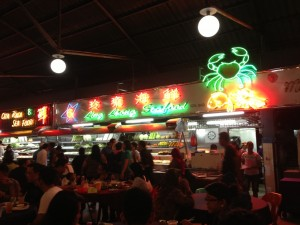 Wendy Kwek Summer Mall Kuching Carpark Seafood